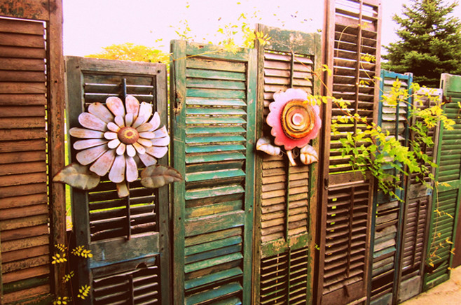 DIY Outdoor Privacy Screen 3
