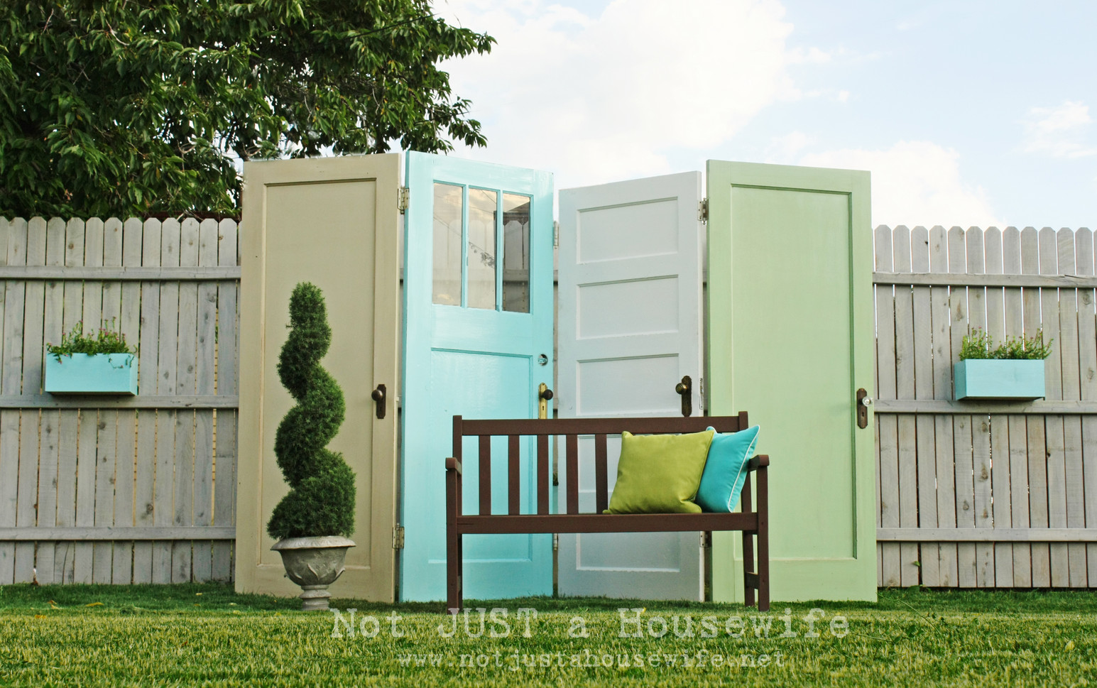 DIY Outdoor Privacy Screen | Interesting Ideas for Home