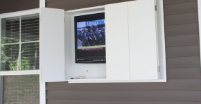 DIY Outdoor TV Enclosure 2