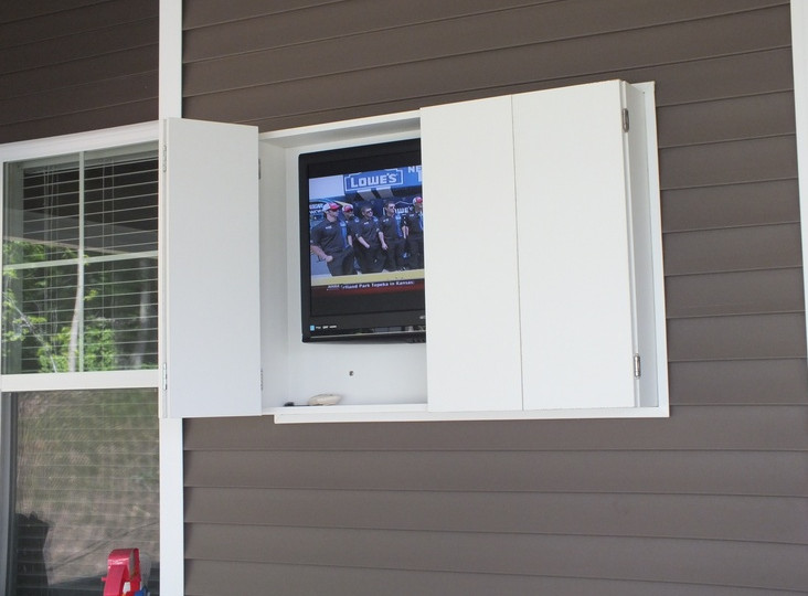 Diy Outdoor Tv Enclosure Interesting Ideas For Home