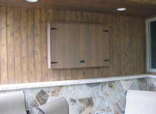 DIY Outdoor TV Enclosure 3