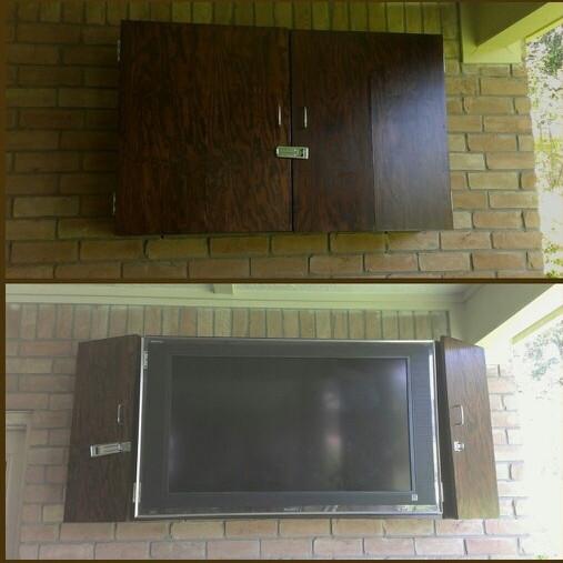 DIY Outdoor TV Enclosure 4