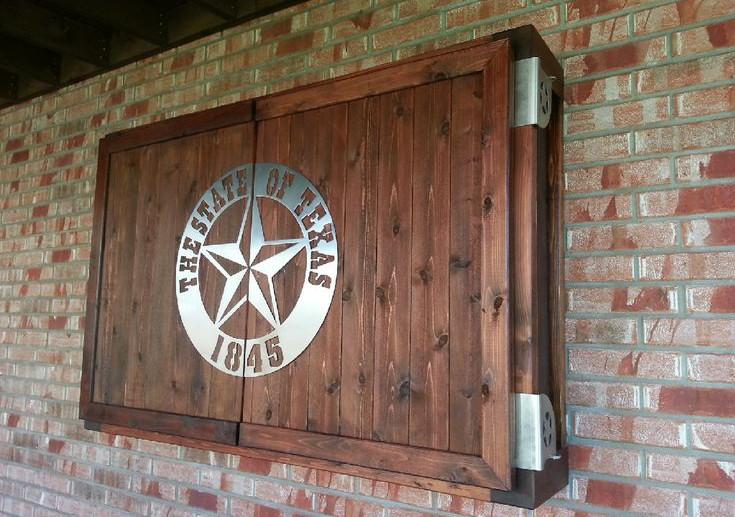 DIY Outdoor TV Enclosure 5