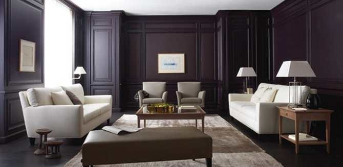 Dark Bedroom Accent Wall