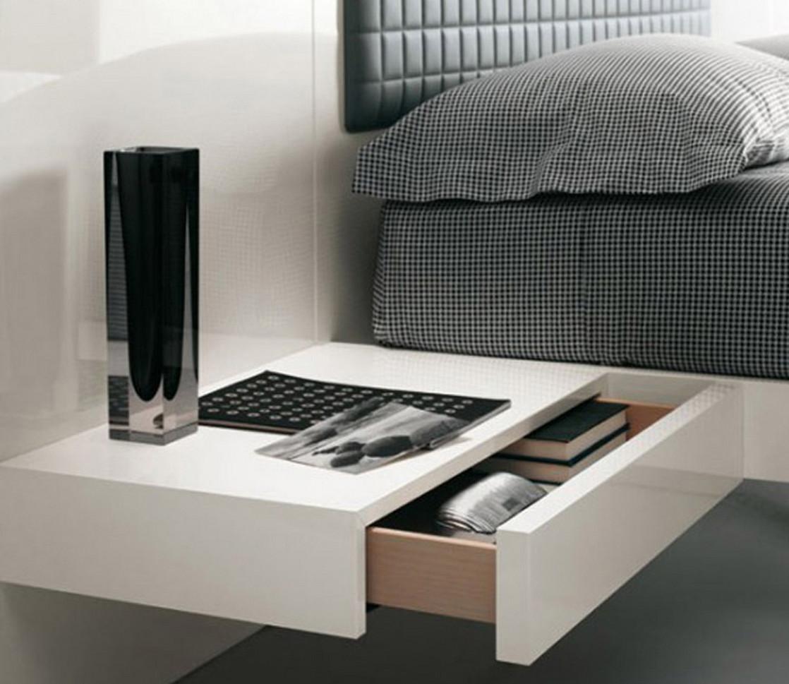 Floating Shelf Bedside Table 4