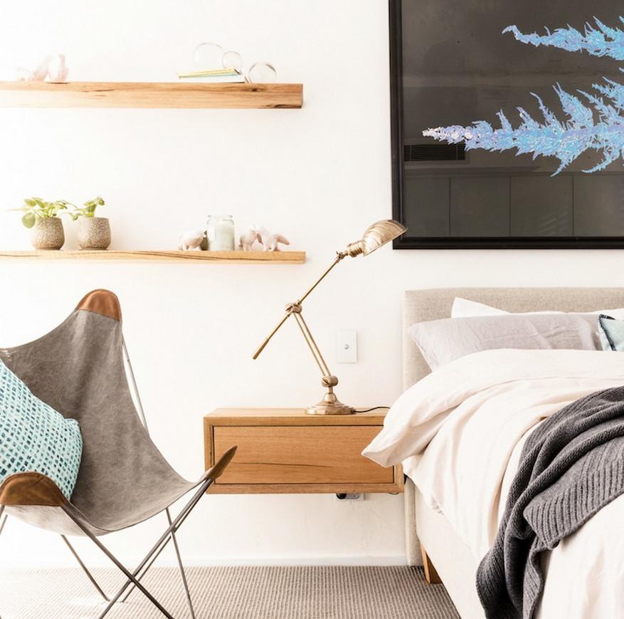 Floating Shelf Bedside Table 5