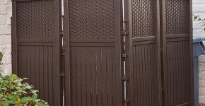 Free Standing Privacy Screen  2