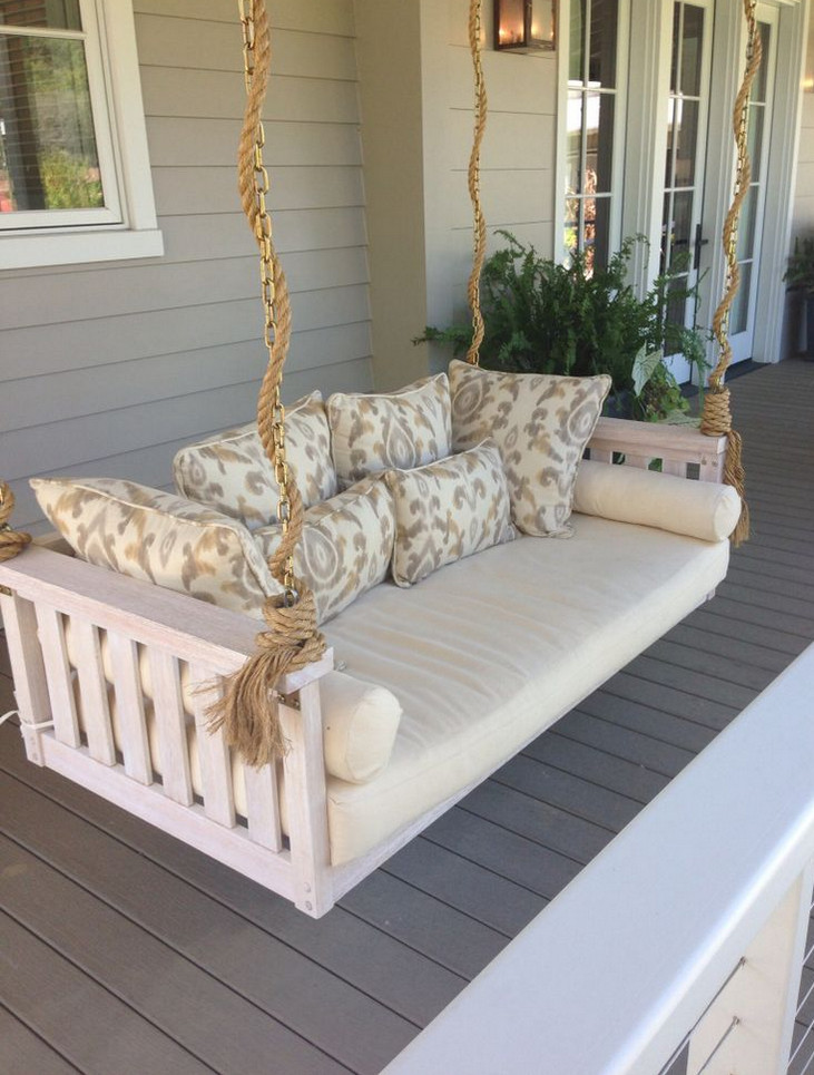 Hanging Porch Swing Plans 6