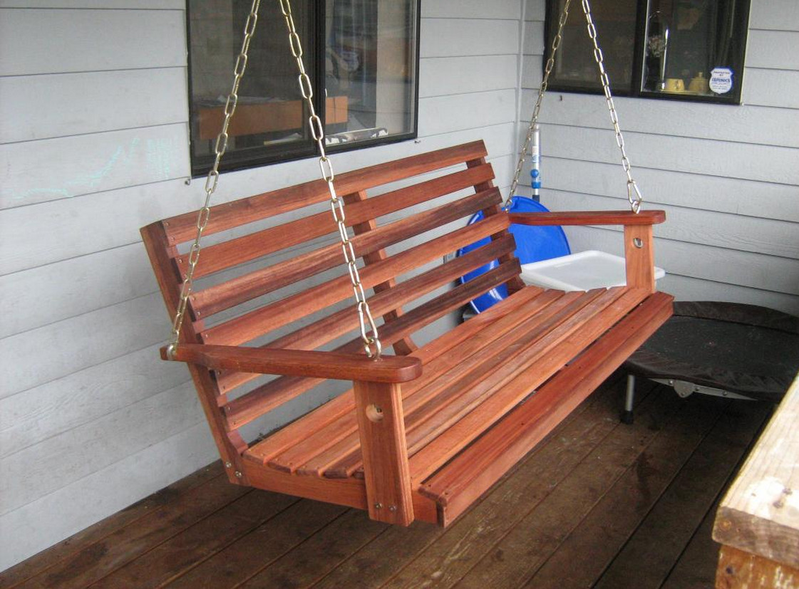 Hanging Porch Swing Plans 7