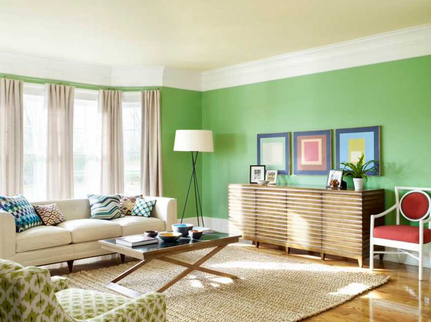 indoor house paint color schemes | interesting ideas for home