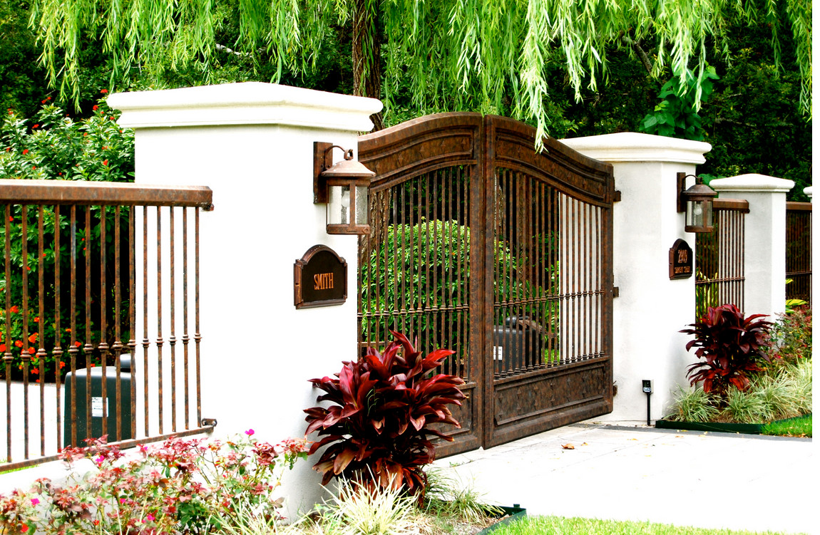 Iron Gates And Fences Designs 3