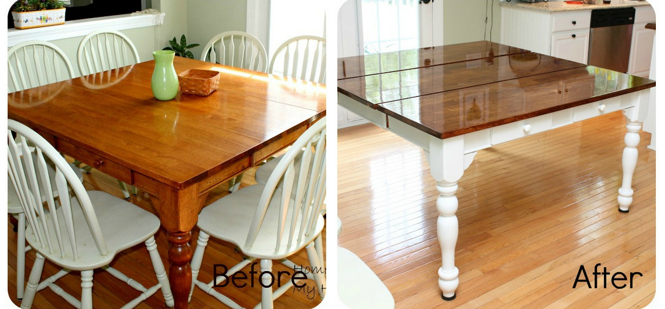 Kitchen Table Makeover Ideas 5
