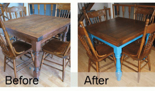 Kitchen Table Makeover Ideas 6
