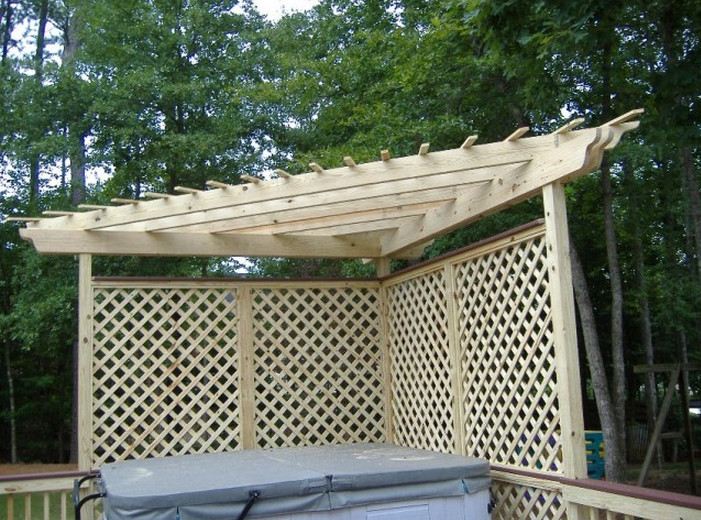 Lattice Privacy Screen for Deck ...
