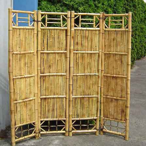 Outdoor Bamboo Privacy Screen3