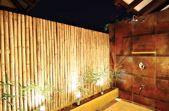 Outdoor Bamboo Privacy Screen7