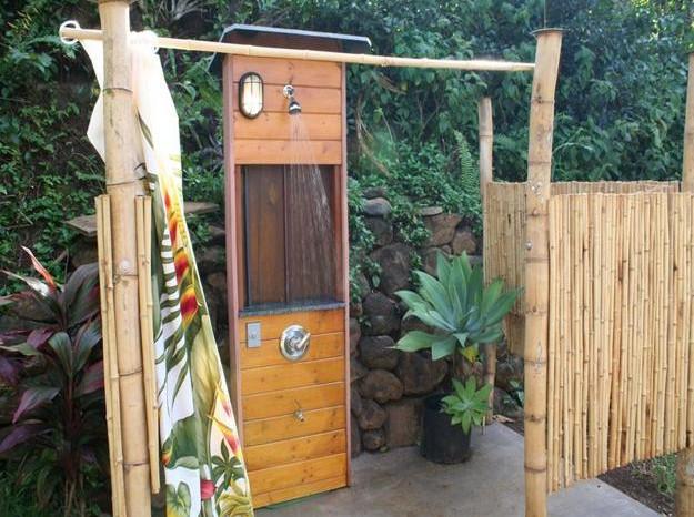 Outdoor Shower Curtain Ideas 4