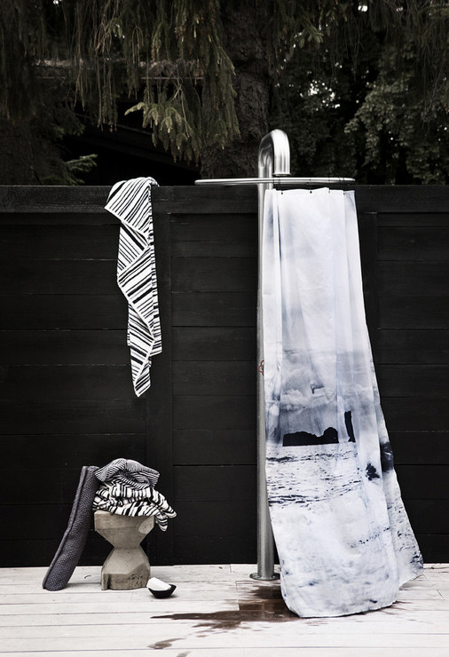 Outdoor Shower Curtain Ideas 6