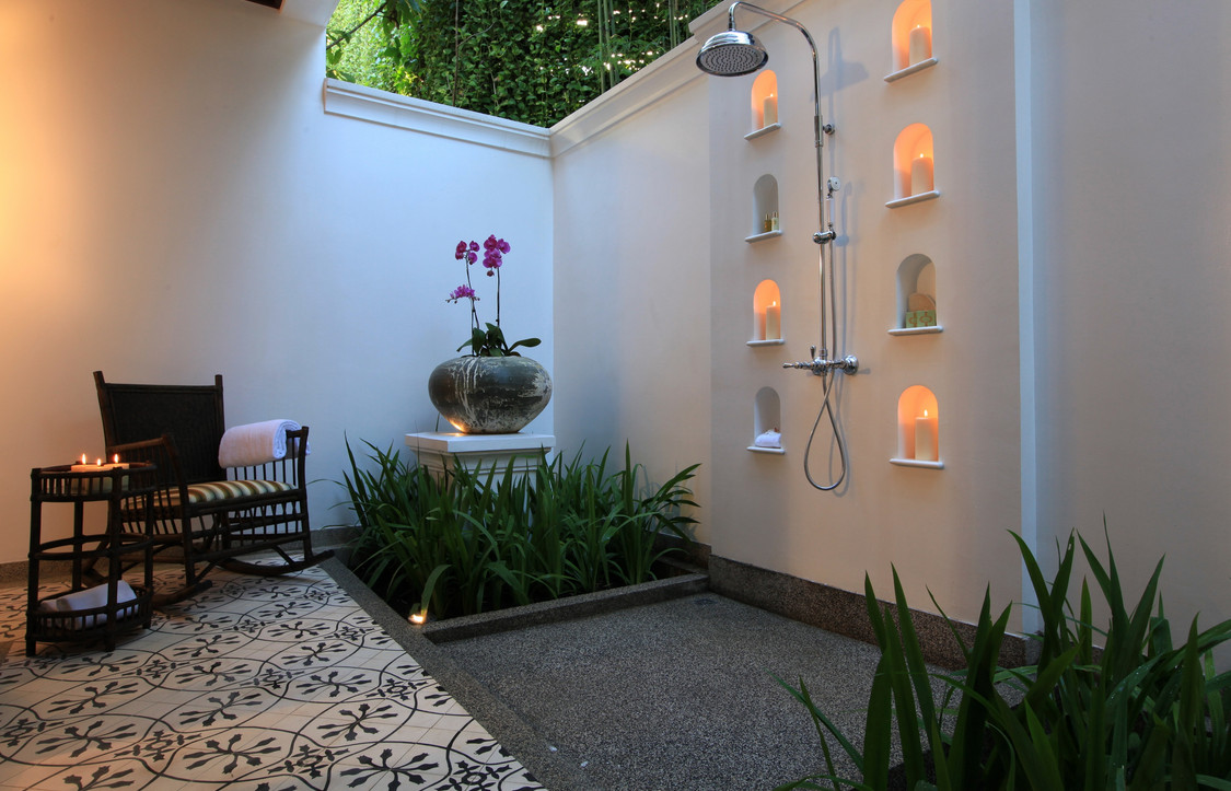 Outdoor Shower Drainage Ideas5