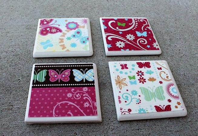 Painting Ceramic Tiles Craft4