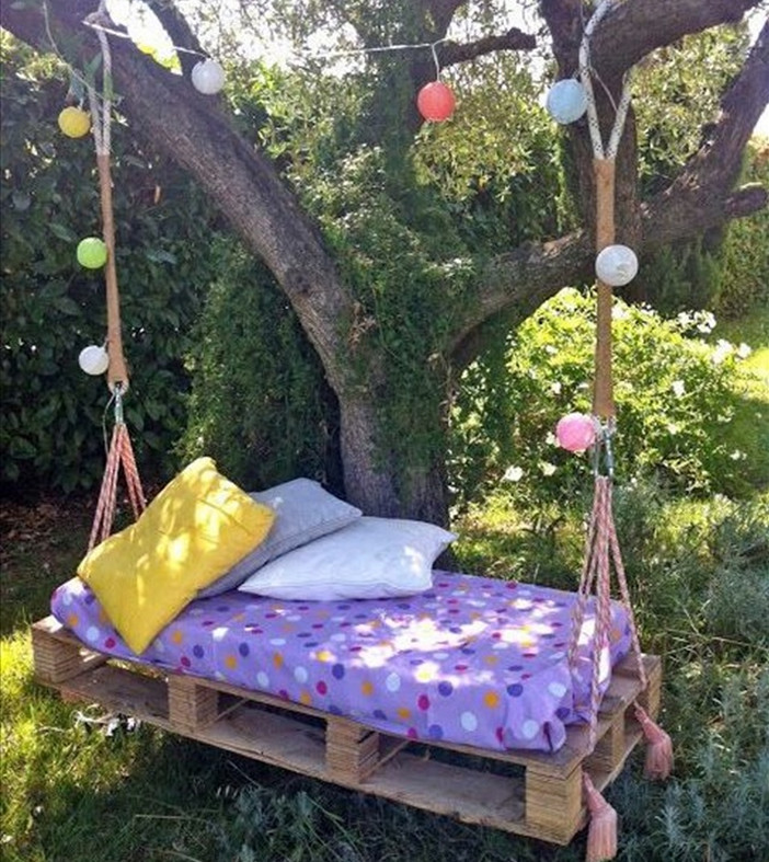 Porch Swing Bed Cushions2