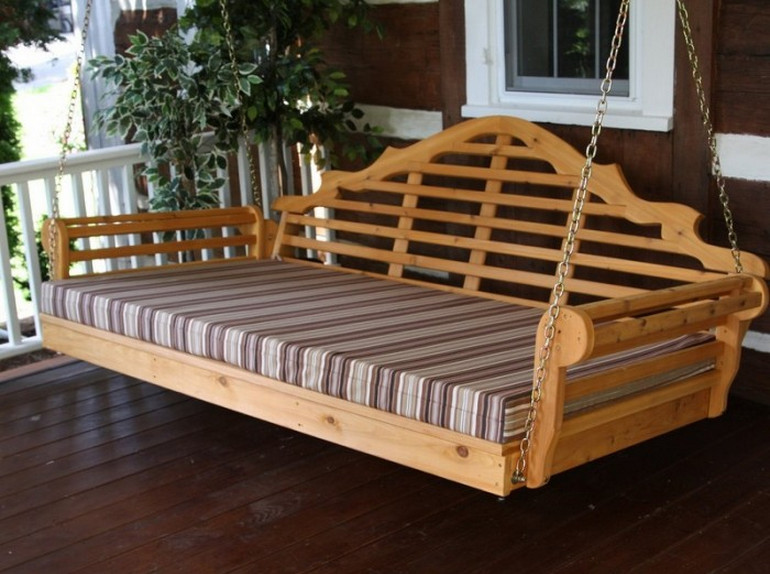 Porch Swing Bed Cushions6