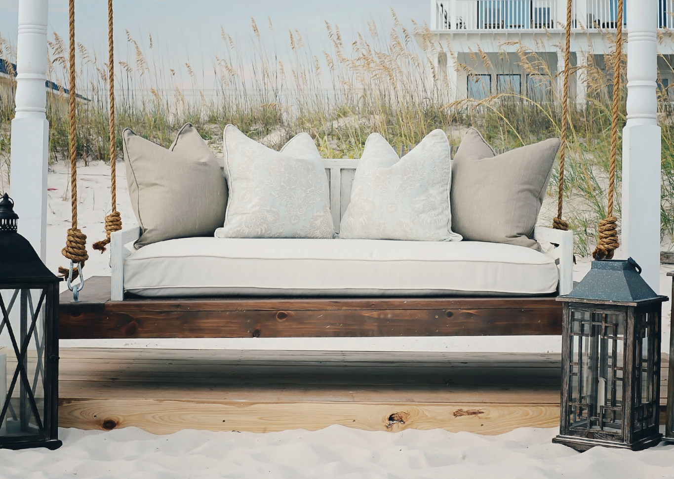 Porch Swing Bed Cushions7