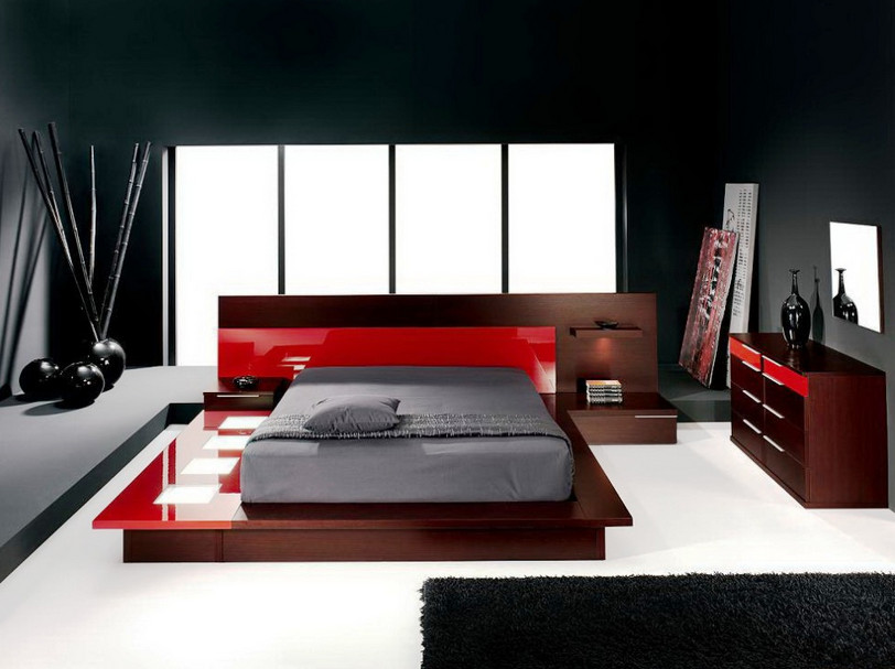Red and Black Wall Painting4