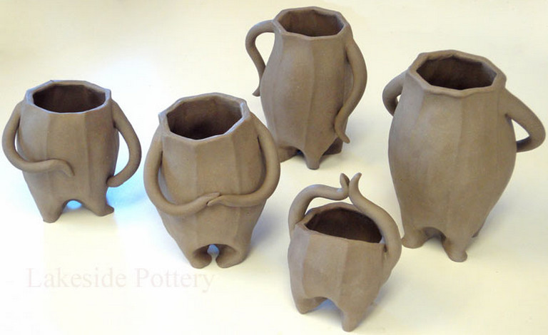Slab building pottery projects interesting ideas for home for Cool ceramic art