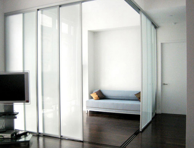 sliding glass panels room dividers interesting ideas for