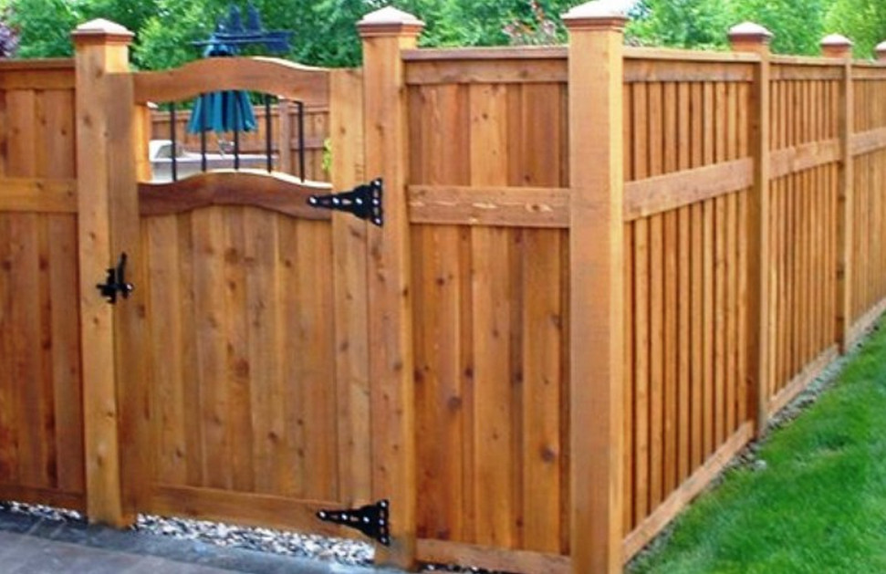 Wood Privacy Fence Gates  3