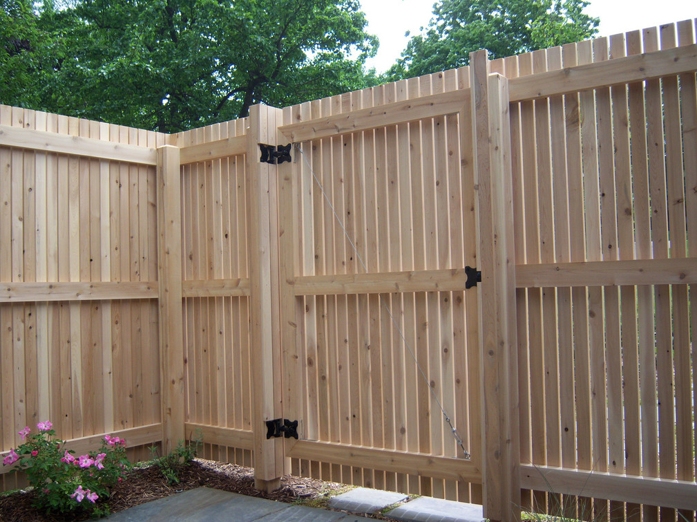 Wood Privacy Fence Gates  4