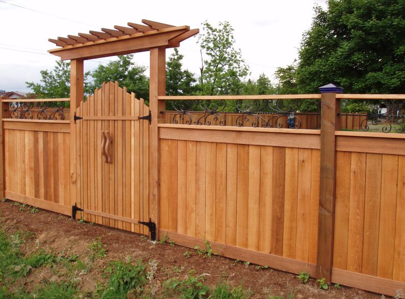Wood Privacy Fence Gates  6