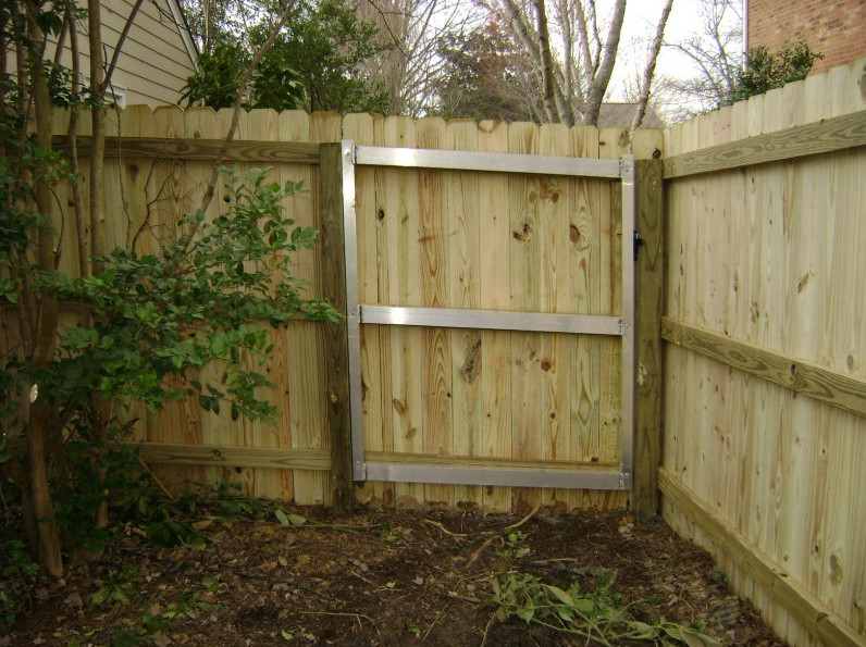 Wood Privacy Fence Gates
