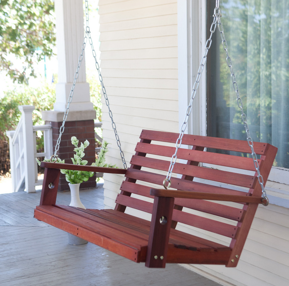 Wooden Front Porch Swing Interesting Ideas For Home