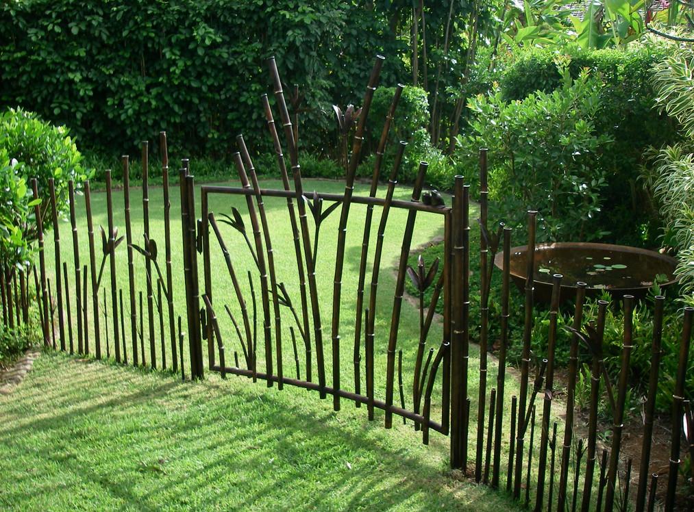 decorative iron gates designs