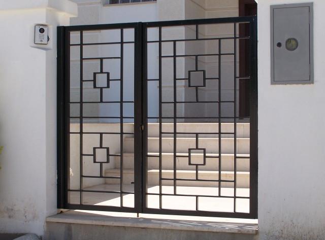 decorative metal gates design 2
