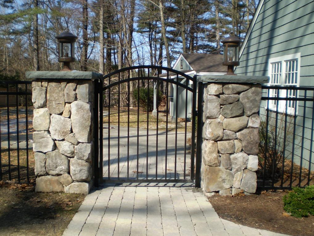 decorative metal gates design