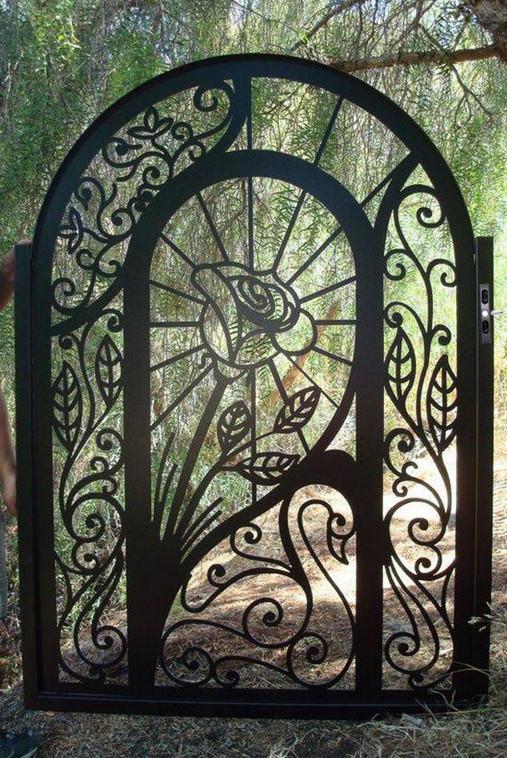 decorative metal gates modern 2